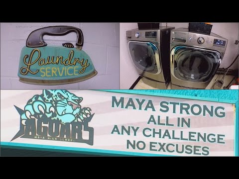 Mark - HIGH SCHOOL SETS UP LAUNDRY ROOM FOR UNDERPRIVILEGED STUDENTS