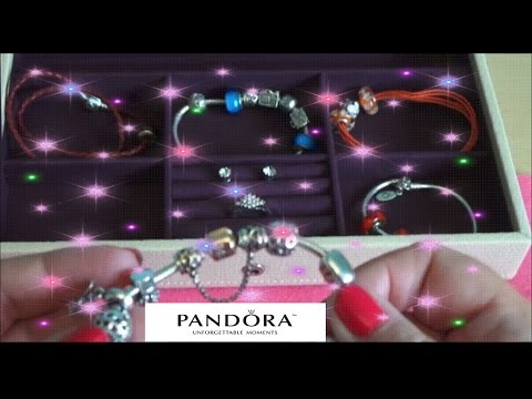 Stackers Jewelry Box Review of my Pandora Jewellery Collection + Michael Kors Watch