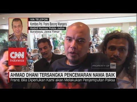 Ahmad Dhani Jadi Tersangka Kasus Pencemaran Nama Baik Mp3