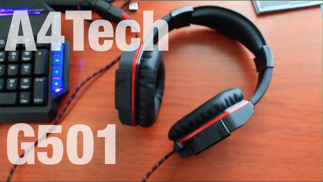 A4Tech Bloody G501 Гарнитура Для Любителей Игр