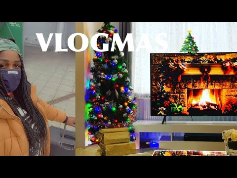 VLOGMAS  #24 FINALLY RE-UNITED WITH OUR LUGGAGE THAT WAS FLOWN ABROAD 😭