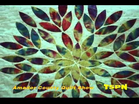 The Sutter Creek Quilt Show on ATW TSPN TV 2012