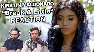 Kirstin Maldonado Break A Little Singers Reaction