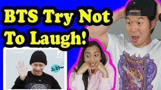 BTS TRY NOT TO LAUGH CHALLENGE REACTION!!! MP3