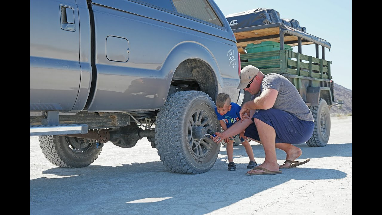 Lifted Truck Tire Change Tips