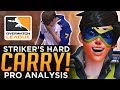 Overwatch: Striker Carried So Hard He Cried! - Tracer Pro Analysis