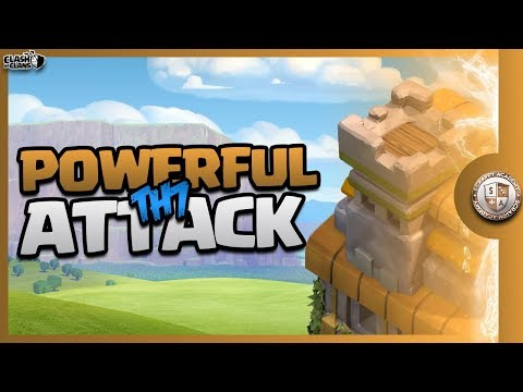 Top 3 BEST TH7 Attack Strategies   Clash Of Clans