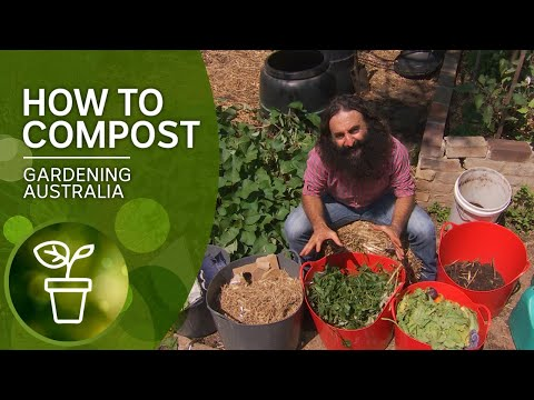 How To Make Great Compost | DIY Garden Projects | Gardening Australia