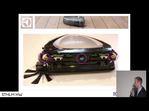 """Robotic vacuum cleaner using 3D vision"" by Petter Forsberg of Electrolux"