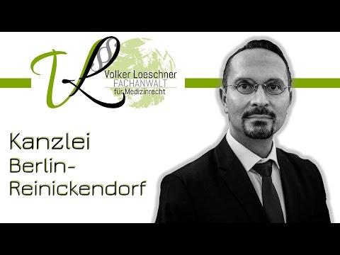 Kanzlei Für Zahn- Und Medizinrecht In Berlin-Reinickendorf | Rechtsanwalt Volker Loeschner