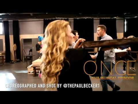 Once Upon a Time Musical Episode Josh and Ginni Rehearsal