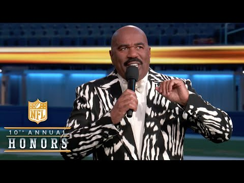 Steve Harvey Roasts NFL Elite in Special 2020 Opening Monologue! | 2021 NFL Honors
