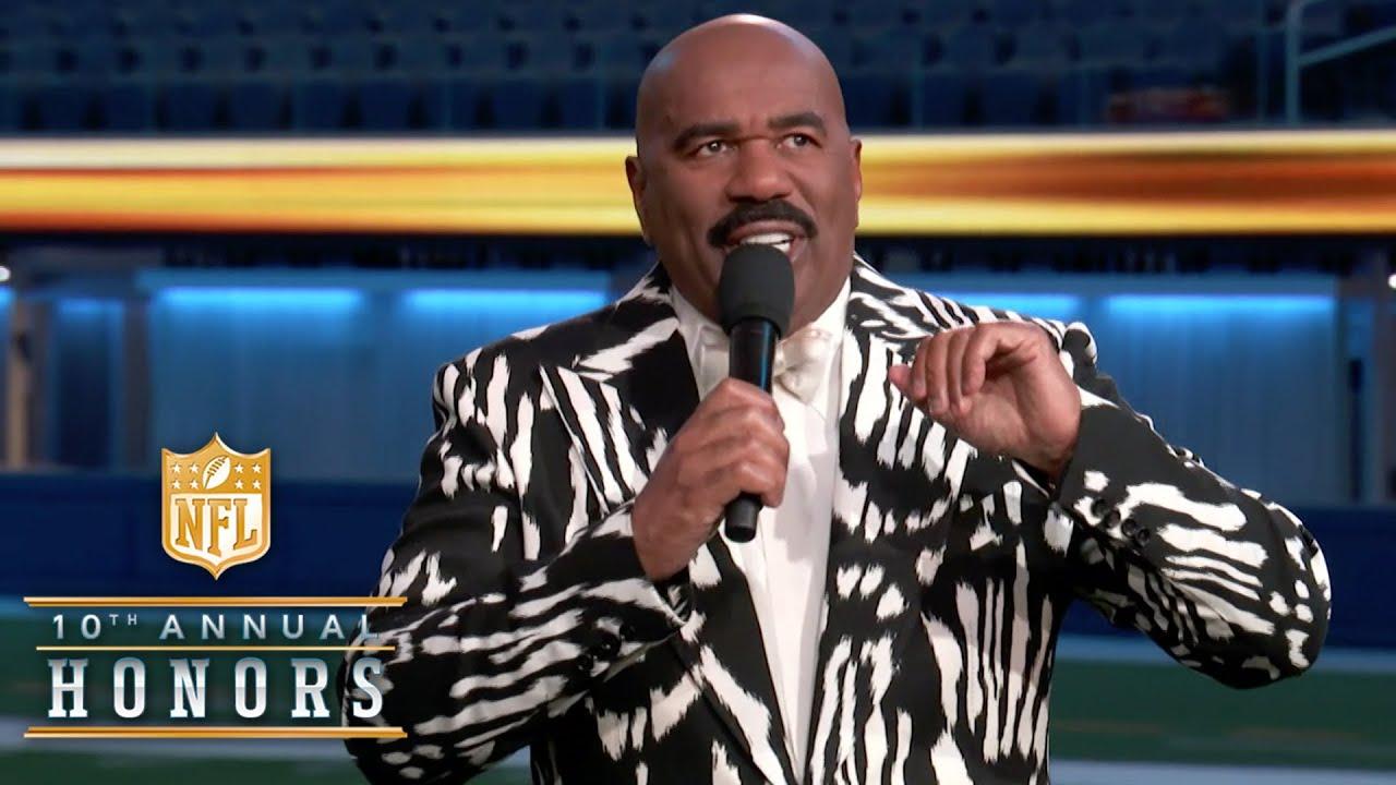 Download Steve Harvey Roasts NFL Elite in Special 2020 Opening Monologue!   2021 NFL Honors
