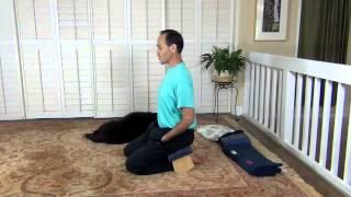 Using a Meditation Bench