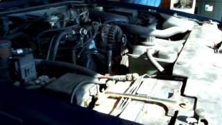 1998 Ford Crown Victoria Police Interceptor A/C compressor locked up