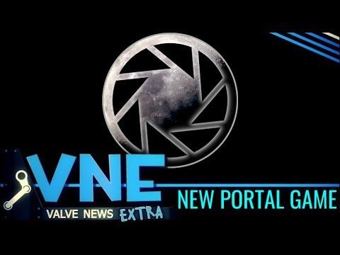 Footage of Valve's New Game, Portal: Moondust