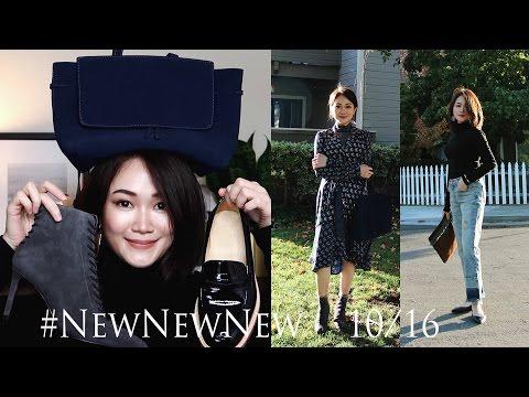 #New购物分享 MANSUR GAVRIEL Lady Bag, Karen Walker墨镜, Stuart Weitzman短靴, MUJI香薰机, etc