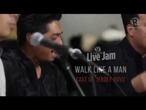 Cast of 'Jersey Boys' - 'Walk Like A Man'