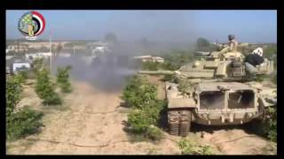 الجيش المصري يسحق داعش في معركة تاريخية لا مثيل لها  اصدار توثيقي