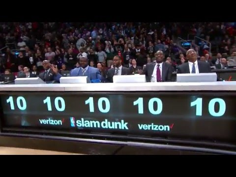 Verizon Slam Dunk Contest Full Highlights   February 13, 2016   NBA All-Star 2016