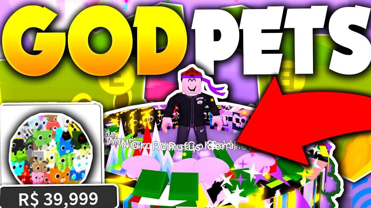 UNLOCKING INFINITE *NEW* GOLD PETS!! (INFINITE PETS!) - Roblox Pet Simulator (Update)