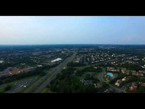 Flying the drone in  Washington Dc