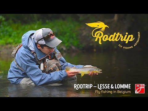 Dry Fly Fishing On Lesse & Lomme, Season Ending In Belgium