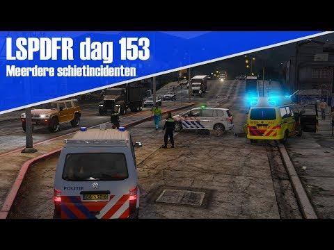GTA 5 lspdfr dag 153 - 2 schietincidenten naast elkaar.  [T5 duo]