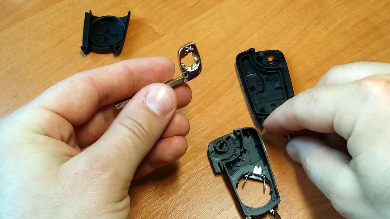 Inne rodzaje Jak rozebrać kluczyk i wymienić grot (wymiana kluczyka) Opel Corsa XV41