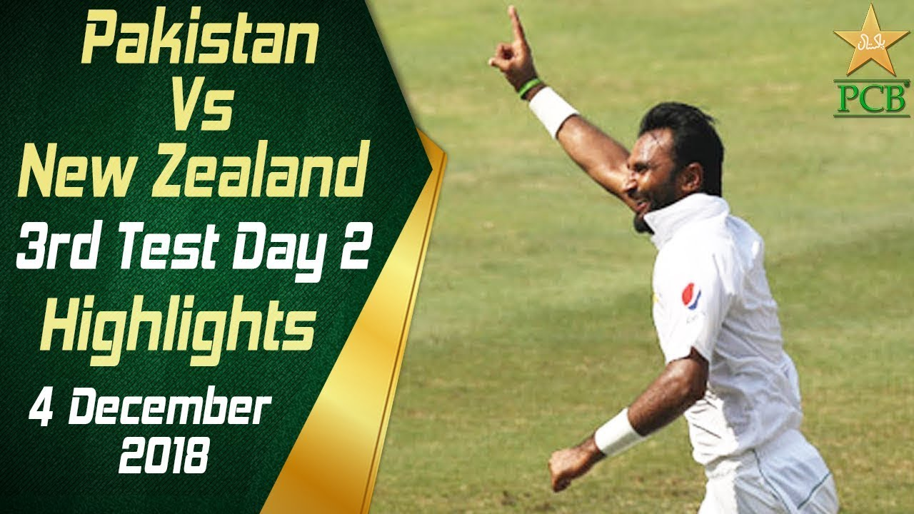 pakistan-vs-new-zealand-highlights-3rd-test-day-2-4-december-2018-pcb