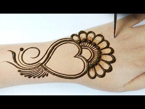 New Stylish Mehndi Design for Hands - Arabic Bridal Mehndi Design -  Makar Sakranti Special Mehndi