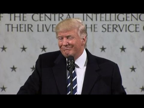 "Trump Delivers ""Uncomfortable"" Speech To CIA"