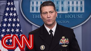 WH physician Trumps overall health is excellent