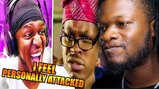 KSI AFRICAN MEMES !   TRY NOT TO LAUGH (African Edition) REACTION