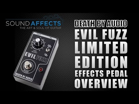 Death By Audio Evil Fuzz Limited Edition Guitar Effects Pedal Demo / Overview
