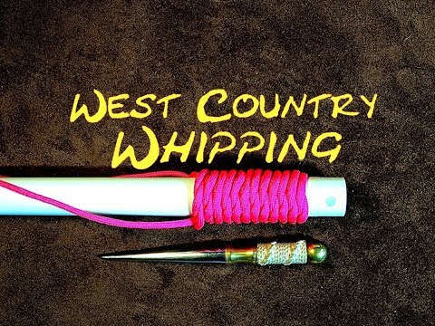 West Country Whipping - West County Whipping - Decorative Covering Knot - Paracord Handle Wrap