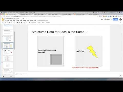 Webinar 1 - Structured Data - AMP, Rich Snippets, Local Business Lesson
