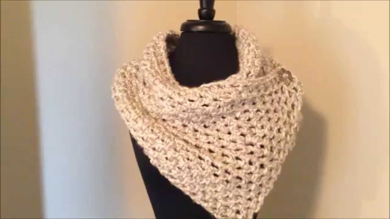 Crochet Scarfs Comparing Lion Brand Chunky Yarns - YouTube