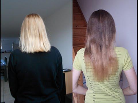 Cheveux apres 6 mois de pousse
