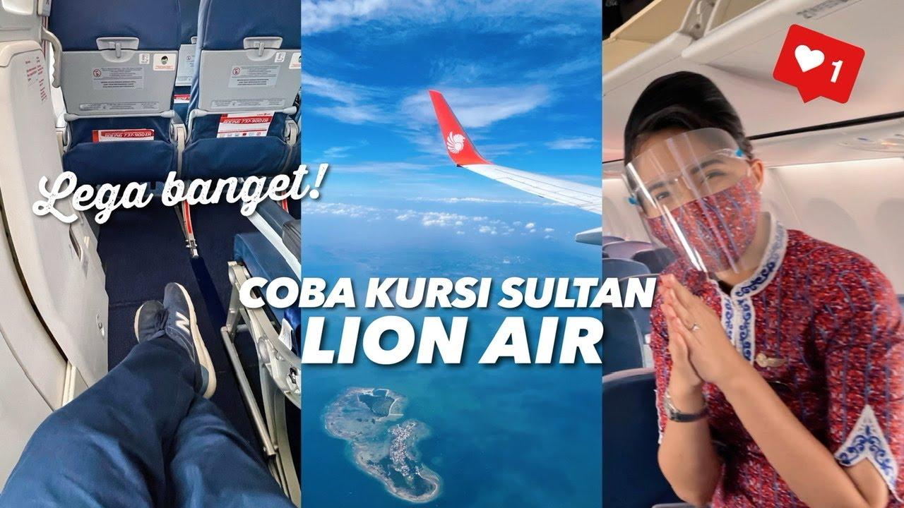 LI0N AIR Rasa First Class? Flight JT 345 Palembang - Jakarta | Coba Test GeNose C19 Pertamakali!