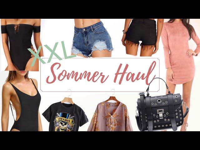 XXL SheIn Sommer Online-HAUL 2017 I AnikaTeller