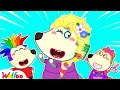 Wolfoo Pretend Play Hair Styling Beauty Toy Salon - Kids Stories About Wolfoo Family| Wolfoo Channel