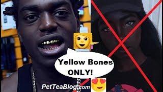 Like fuck to Yellow girls bone that