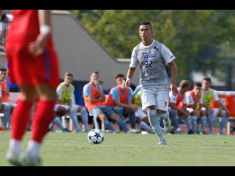 2017 Men's Soccer Highlights - Tulsa 1, SMU 0
