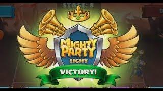 Mighty Party Light Juego Gratis Facebook y PC Un Juego de lucha de cartas
