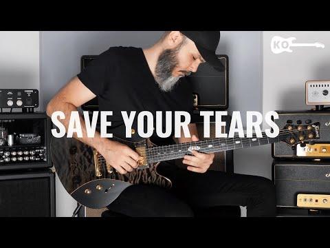 The Weeknd – Save Your Tears – Electric Guitar Cover by Kfir Ochaion