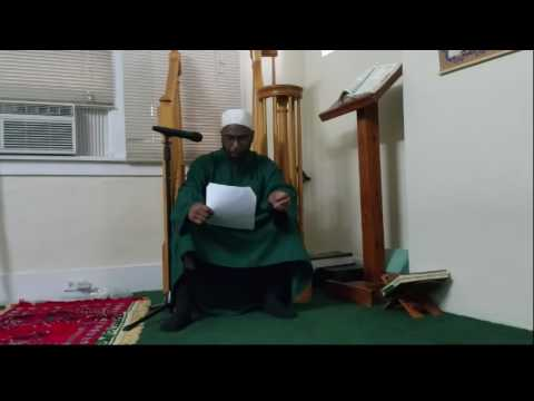 Message to the Jamaa'ah of Shehu Uthman Dan Fodiyo of America
