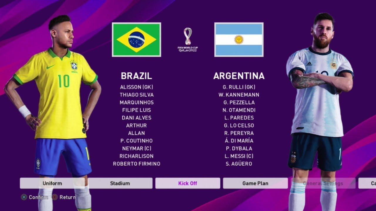 Will Argentina Win World Cup 2020.Fifa World Cup Final 2022 Brazil Vs Argentina Pes 2020