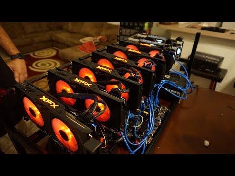 8 GPU Mining Rig Build