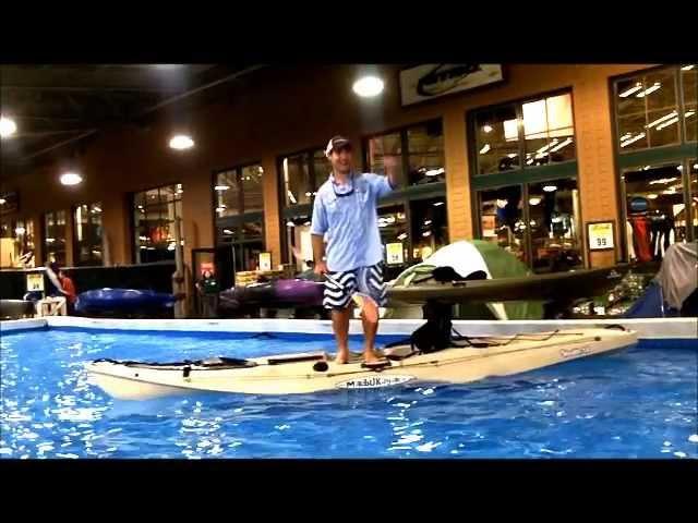 Malibu Stealth 14 Stability Test: Kayak Stunts